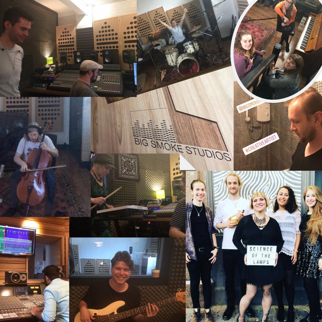 STRAWS recording team