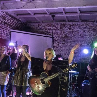 Kaya performing