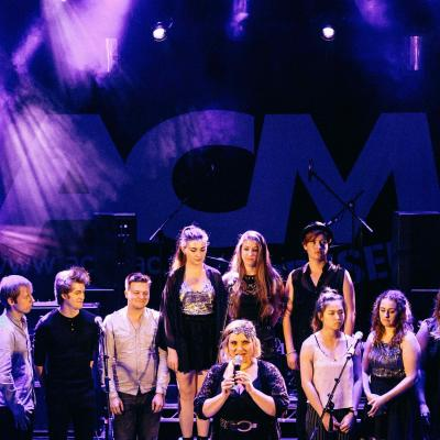 Kaya with ACM Electron choir